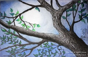 moon trees sm