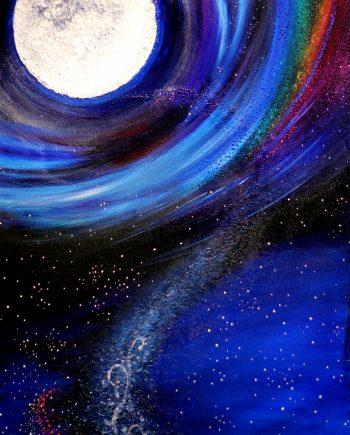 Moon Music painting