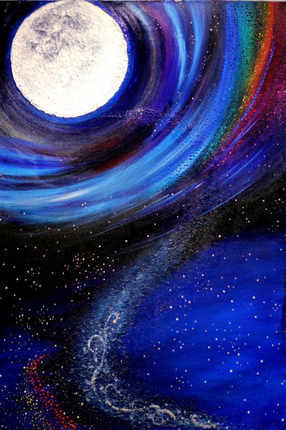 Moon Music painting